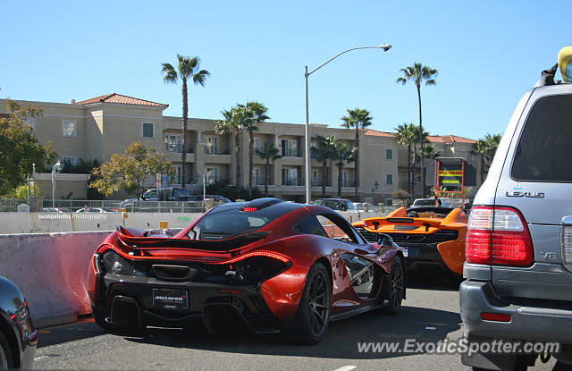 Mclaren P1 spotted in Newport Beach, California