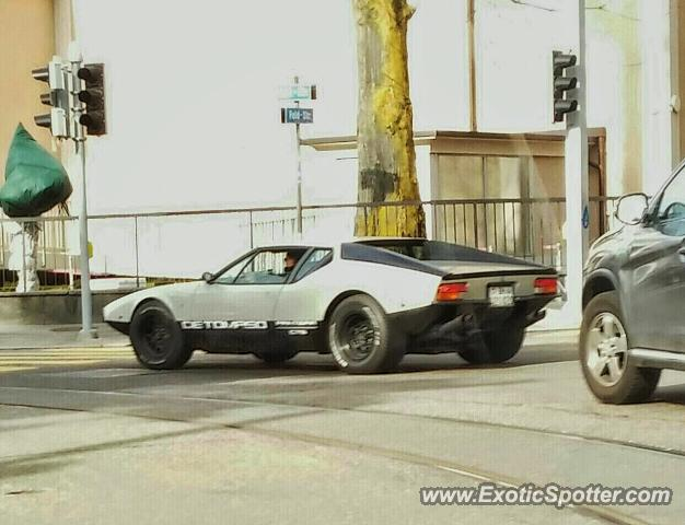DeTomaso Pantera2 spotted in Zurich, Switzerland