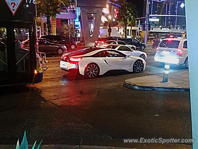 bmw i8 spotted in las vegas, nevada on 03/09/2015