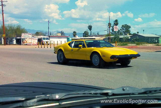 DeTomaso Pantera2 spotted in Tucson, Arizona