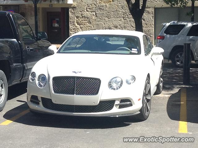 Bentley Continental spotted in San Antonio, Texas