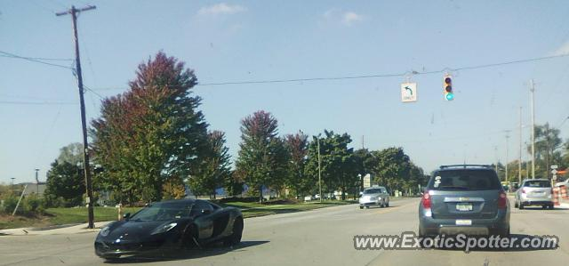 Mclaren MP4-12C spotted in East Lansing, Michigan