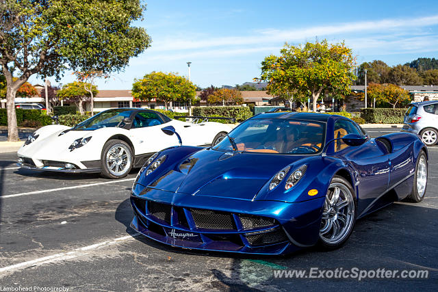 Pagani Huayra spotted in Carmel, California
