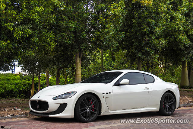 מתוחכם Maserati GranTurismo spotted in Rishon LeZion, Israel on 03/08/2015 VS-73
