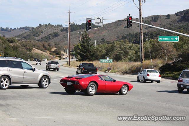 DeTomaso Mangusta spotted in Monterey, California