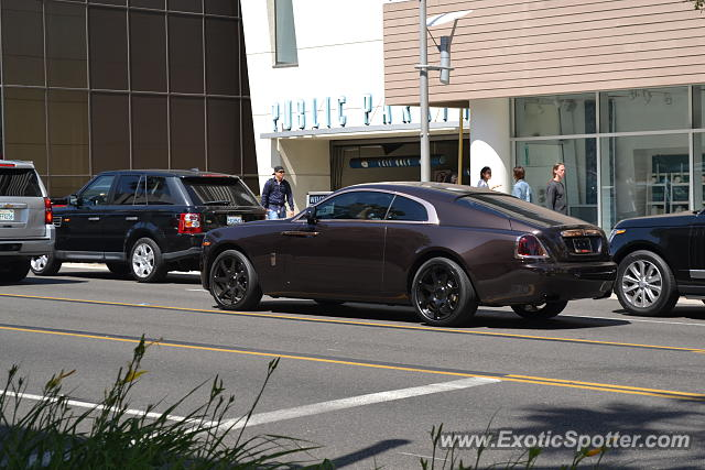 Rolls royce wraith spotted in beverly hills california on for Rolls royce of beverly hills