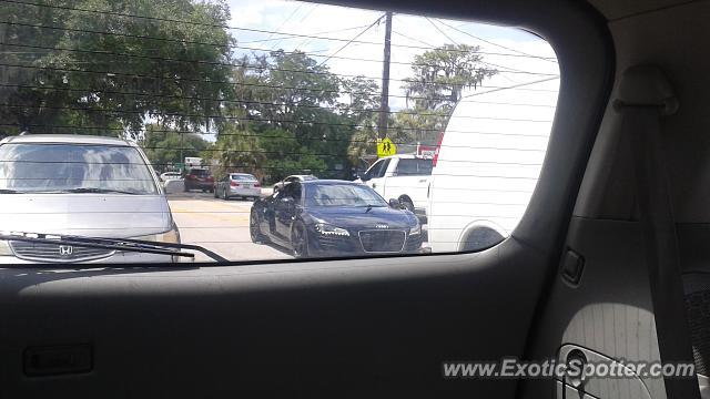Audi R8 spotted in Brandon, Florida