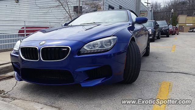 BMW M6 spotted in Hartland, Wisconsin