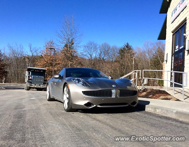 Fisker Karma spotted in Wexford, Pennsylvania