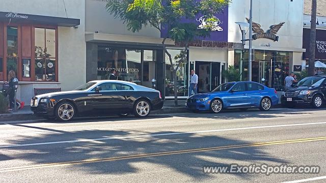 rolls royce wraith spotted in beverly hills california on 03 21 2015. Black Bedroom Furniture Sets. Home Design Ideas