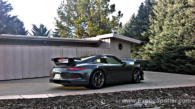 Porsche 911 GT3 spotted in GreenwoodVillage, Colorado