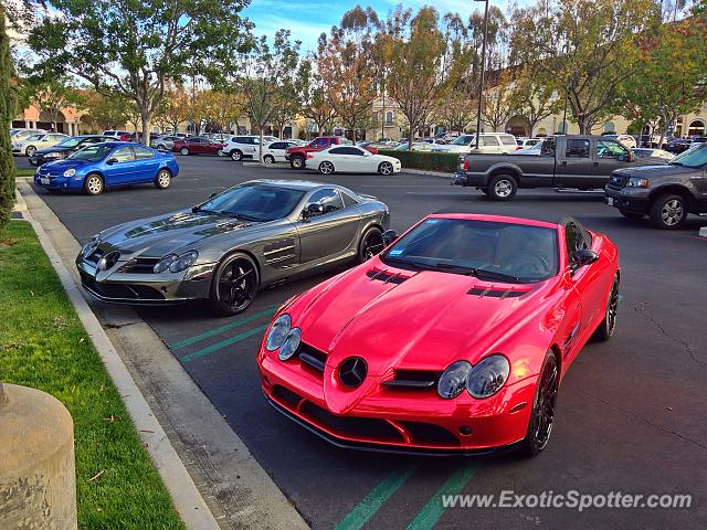 Mercedes SLR spotted in Calabasas, California
