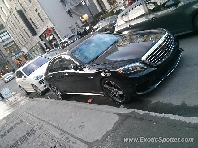 mercedes s65 amg spotted in montreal canada on 06 30 2014. Black Bedroom Furniture Sets. Home Design Ideas