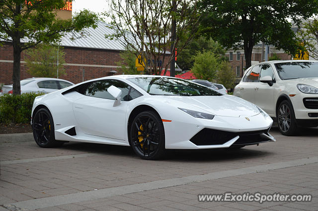 Lamborghini Huracan Spotted In Dallas Texas On 04 17 2015