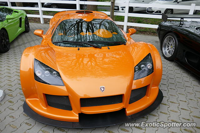 Gumpert Apollo spotted in Unna, Germany