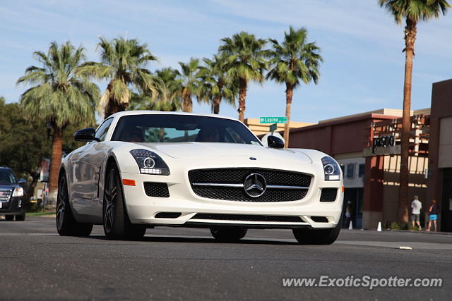 Mercedes sls amg spotted in palm desert california on 05 for Mercedes benz palm desert
