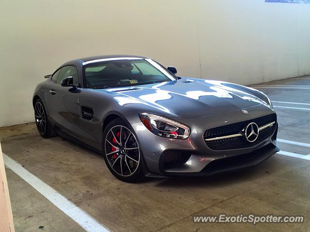 Mercedes amg gt spotted in tysons corner virginia on 05 for Mercedes benz tysons corner va