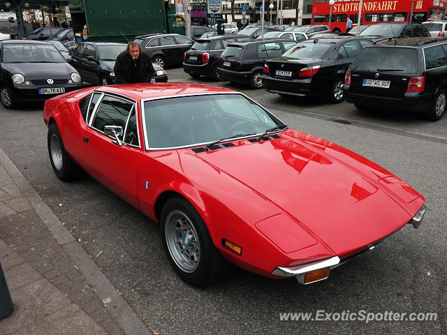 DeTomaso Pantera2 spotted in Hamburg, Germany