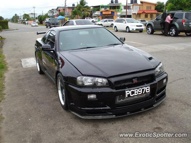 Nissan Skyline | Spotted in Unknown City, Trinidad and Tobago