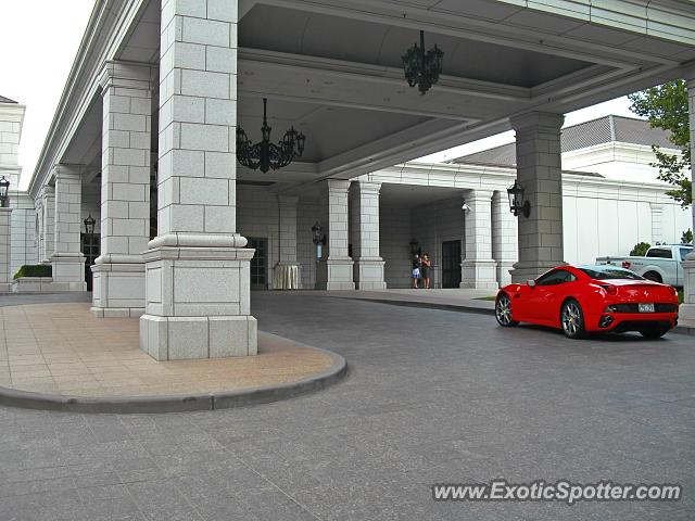 ferrari california spotted in salt lake city utah on 08 06 2014. Black Bedroom Furniture Sets. Home Design Ideas