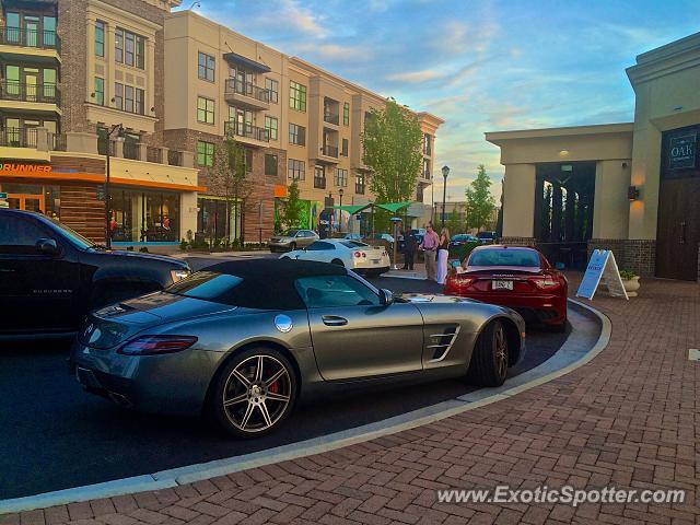 Mercedes sls amg spotted in alpharetta georgia on 05 19 2015 for Mercedes benz alpharetta ga