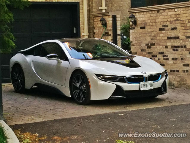 BMW I8 spotted in Toronto, ON, Canada