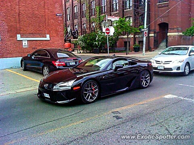 Lexus LFA Spotted In Toronto Canada On - Lexus dealership toronto