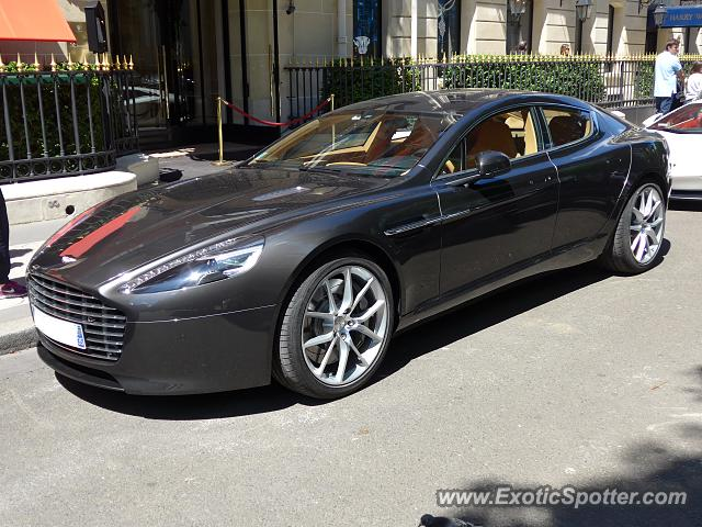 aston martin rapide spotted in paris france on 05 30 2015. Black Bedroom Furniture Sets. Home Design Ideas