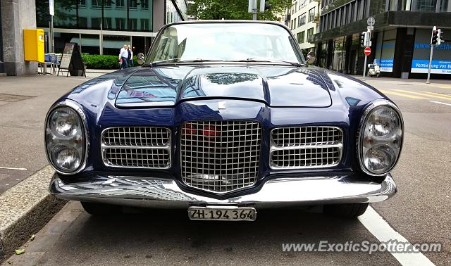 Facel Vega spotted in Zurich, Switzerland