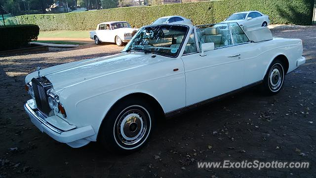 Rolls-Royce Corniche spotted in Johannesburg, South Africa