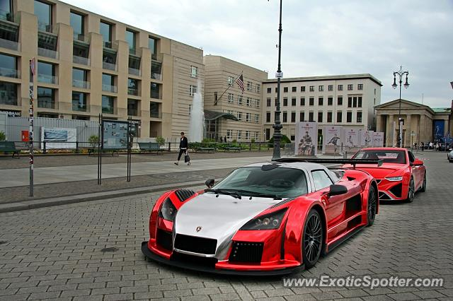 Gumpert Apollo spotted in Berlin, Germany