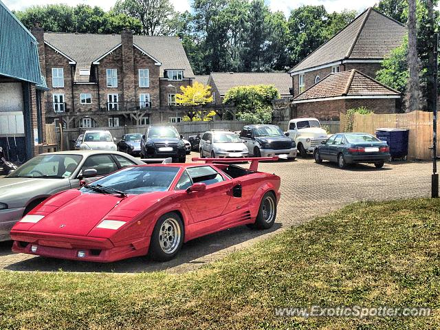 Lamborghini Countach spotted in Wokingham, United Kingdom