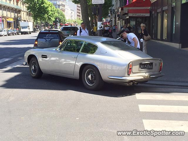 aston martin db6 spotted in paris france on 06 06 2015 photo 2