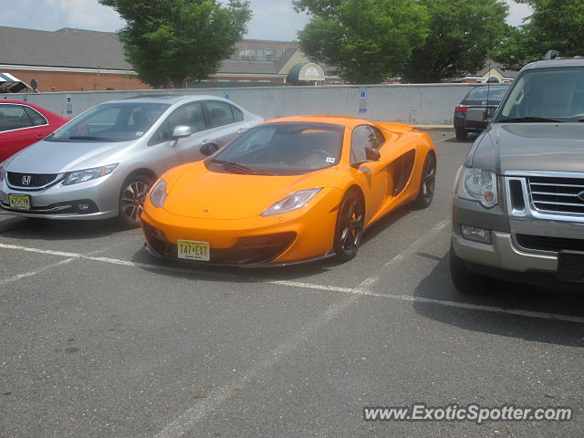 Mclaren MP4-12C spotted in Princeton, New Jersey