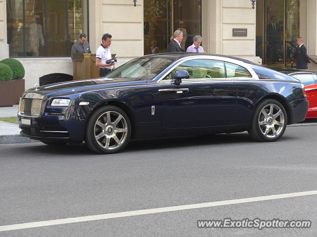 rolls royce wraith spotted in paris france on 06 13 2015. Black Bedroom Furniture Sets. Home Design Ideas