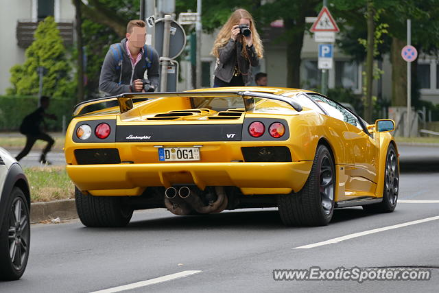 lamborghini diablo spotted in d sseldorf germany on 06 21. Black Bedroom Furniture Sets. Home Design Ideas
