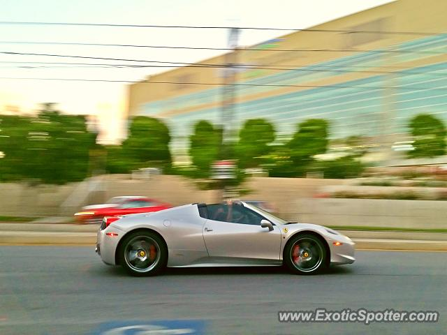 ferrari 458 italia spotted in salt lake city utah on 05 27 2015. Black Bedroom Furniture Sets. Home Design Ideas