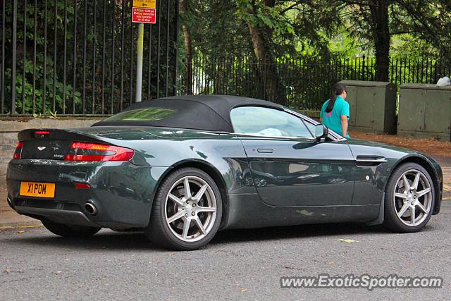 Aston Martin Vantage Spotted In Cambridge United Kingdom