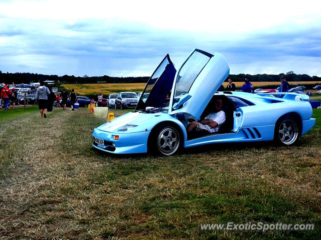Lamborghini Diablo spotted in Silverstone, United Kingdom