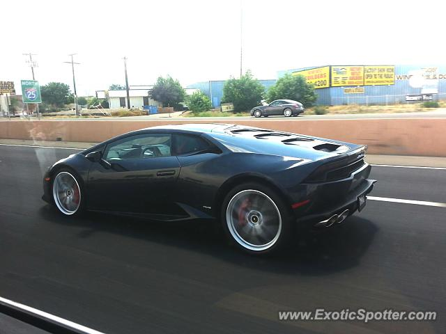 lamborghini huracan spotted in albuquerque new mexico on 07 03 2015. Black Bedroom Furniture Sets. Home Design Ideas