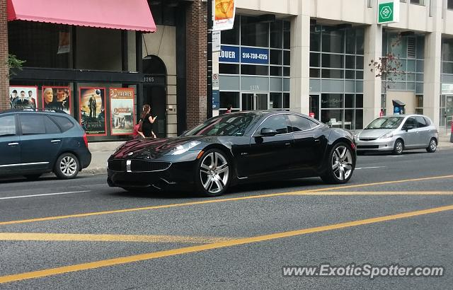 Fisker Karma spotted in Montreal, Canada