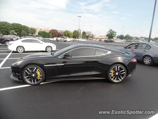 Aston Martin Vanquish spotted in Chattanooga, Tennessee