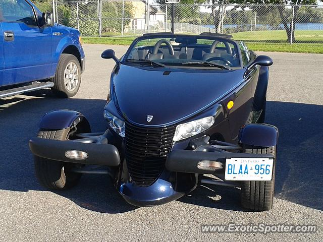 Plymouth Prowler spotted in Cornwall, ON, Canada