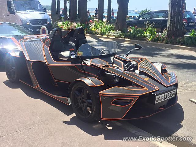 KTM X-Bow spotted in Canne, France