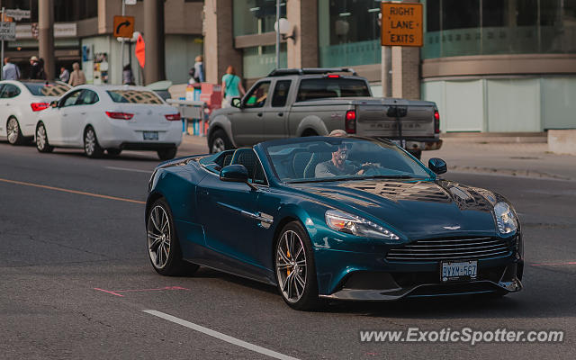 Aston Martin Vanquish Spotted In Toronto On Canada On 06 17 2015