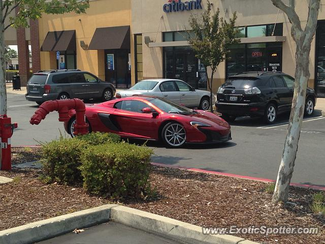 Mclaren 650S spotted in Sacramento, California