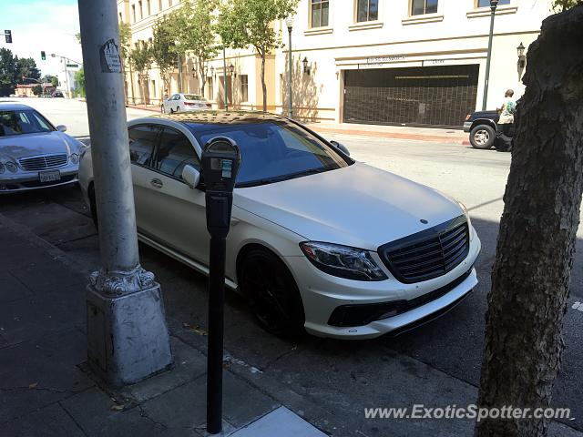 Mercedes s65 amg spotted in san mateo california on 08 02 for Mercedes benz san mateo
