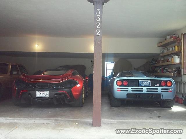 Mclaren F1 spotted in Monterey, California