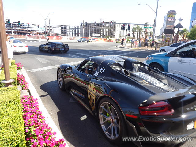 Porsche Las Vegas >> Porsche 918 Spyder Spotted In Las Vegas Nevada On 06 07 2015