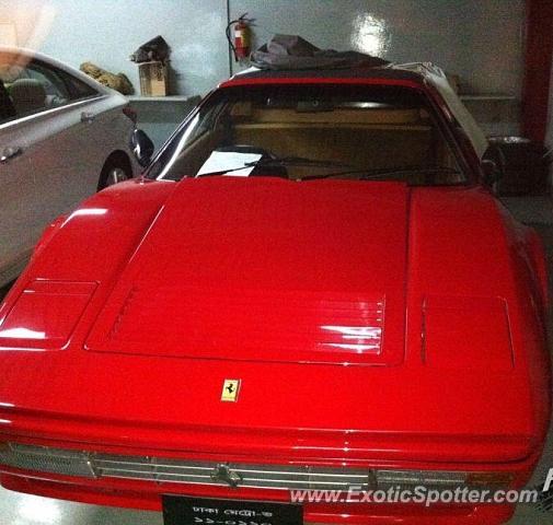 Ferrari 328 Spotted In Dhaka, Bangladesh